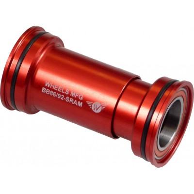 WHEELS MANUFACTURING Boitier de pédalier BB86/92 22/24mm (SRAM, Truvativ) roulements céramique